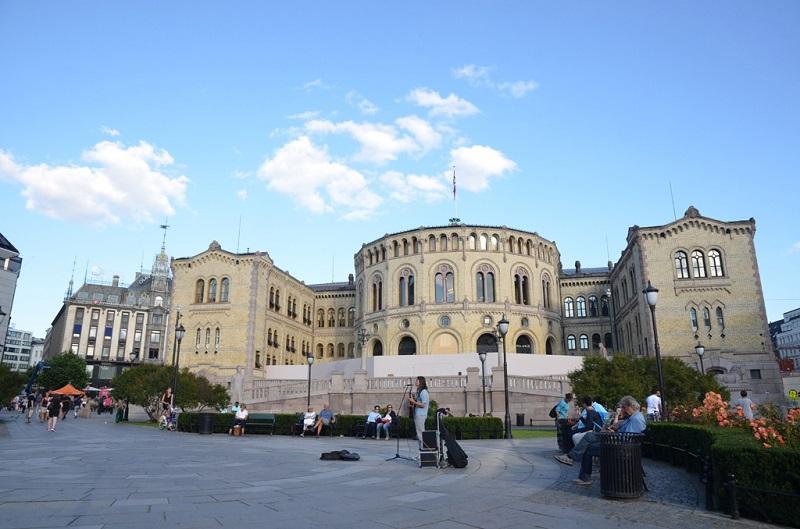奥斯陆挪威议会大楼