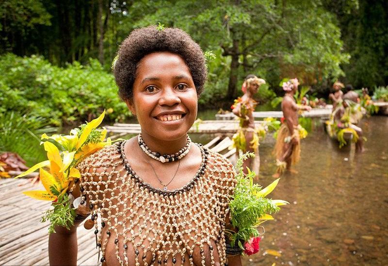 巴布亚新几内亚女人