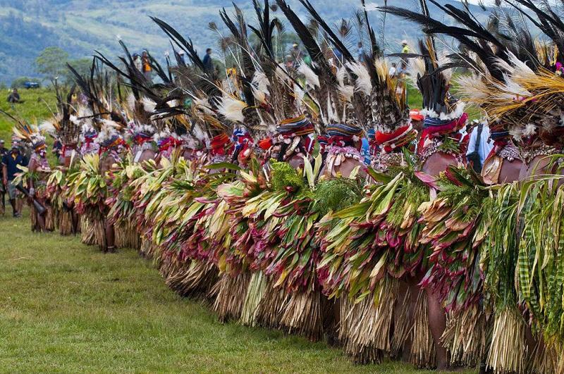 部落人的节日