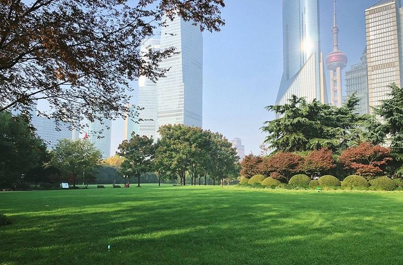 上海陆家嘴中心绿地公园