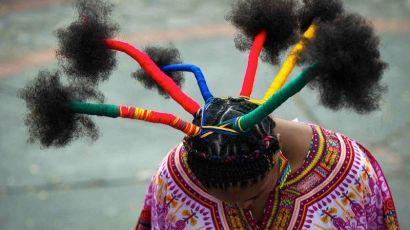 非洲人的头上风景(图)